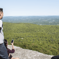 The eastern view reaching across the Hudson Valley.- Minnewaska State Park Preserve