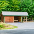 Firewood is available on-site.- Quechee State Park Campground