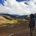 The valley below is almost as impressive as Vinicunca herself.- Vinicunca / Rainbow Mountain