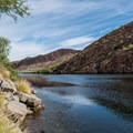 An excellent little cover to escape motorboat noise and wake.- Canyon Lake: Boulder Recreation Site