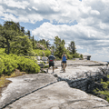 Hikers along the Gertrude's Nose Trail.- Minnewaska State Park Preserve