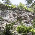 Rainbow Falls.- Minnewaska State Park Preserve