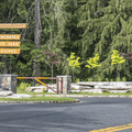 The entrance gate on Route 44.- Minnewaska State Park Preserve