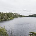 The first sight of Lake Minnewaska.- Minnewaska State Park Preserve