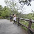 A viewpoint overlooking Lake Minnewaska.- Minnewaska State Park Preserve