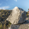 Glacial erratic scattered across the park.- Minnewaska State Park Preserve