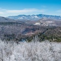 A winter day in the Adirondacks.- Belfry Mountain Fire Tower