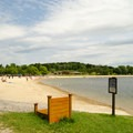 This park has a very large beach and parking area big enough to accommodate all guests.- Lake Taghkanic State Park