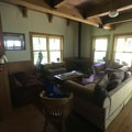 The living area of Cabin 4.- Jawbone Flats