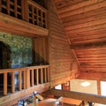 Loft of the main lodge.- Jawbone Flats