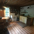 Kitchen/dining area of Cabin 1.- Jawbone Flats