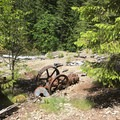 Relics left behind by the mining company that once thrived in Jawbone Flats.- Jawbone Flats