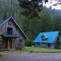 Cabins 4 and 5. Each sleep 16 people.- Jawbone Flats