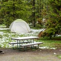 Indian Creek is a great tent campground.- Indian Creek Campground
