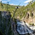 Gibbon Falls.- Gibbon Falls