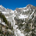 Great views of the Teton Range are one of the many rewards on this beautiful hike.- Surprise + Amphitheater Lakes