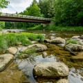 Access along the Ammonoosuc River from the picnic area.- Zealand Campground and Picnic Area