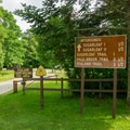 The Zealand Campground is right off of New Hampshire Route 302 at the intersection of Zealand Road.- Zealand Campground and Picnic Area