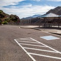 An ADA-accessible and shaded picnic area.- Inspiration Point + Theodore Roosevelt Dam