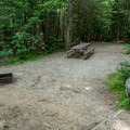 A typical campsite in Sugarloaf 1 Campground.- Sugarloaf 1 Campground
