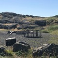 Picnic area in South Beach.- San Juan Island National Historical Park