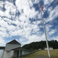 The Blockhouse on Garrison Bay in English Camp.- San Juan Island National Historical Park