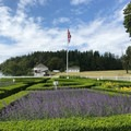 The garden of English Camp.- San Juan Island National Historical Park
