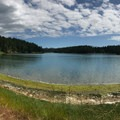 Panorama of Garrison Bay.- San Juan Island National Historical Park