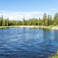 Madison River.- Baker's Hole Campground