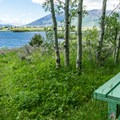 A great place to sit and admire the view.- Henry's Lake Loop Trail