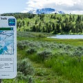 Trail markers and maps are helpful.- Henry's Lake Loop Trail
