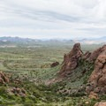 High-desert views at Lost Dutchman State Park.- Lost Dutchman State Park
