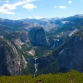 View of Merced from Glacier Point Trailhead.- Upper Merced River: Headwaters to Little Yosemite Valley