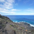 The trail is extremely steep with loose rock and plenty of scrambling.- Makapu'u Tide Pools