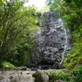 The second falls.- Ka'au Crater Hike