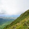 Windswept ridges of the Ko'olau mountain spine.- Ka'au Crater Hike