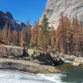 Bunnell Cascade Rapid on the Upper Merced River.- Upper Merced River: Headwaters to Little Yosemite Valley