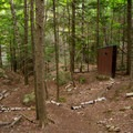 Take a right at the privy and follow the footpath to the overlooks for the falls.- Beer Walls in Chapel Pond Canyon