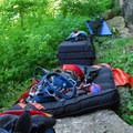 Climbing gear is needed for this adventure.- Devil's Backbone