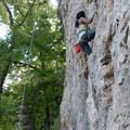 Climb on!- Devil's Backbone