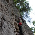 Various grades and difficulties can be found at Drive In Wall.- Devil's Backbone