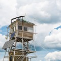 Mount Cardigan fire tower.- Cardigan Mountain State Park