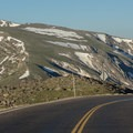 Some of the high alpine tundra views available above the tree line while traversing Trail Ridge Road.- Trail Ridge Road