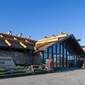 The Alpine Visitor Center sitting at 11,796 feet is one of the highest you will come across.- Trail Ridge Road
