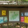 Area information kiosk.- Sugarloaf 2 Campground