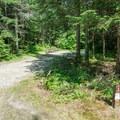 A typical campsite in Sugarloaf 2 Campground.- Sugarloaf 2 Campground
