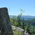 Looking west toward Portland from Zig Zag Mountain Trail.- Zig Zag Mountain via the Horseshoe Ridge Trail
