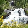Cascade Falls.- Crater Lake via Cascade Creek