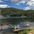 Boulder Meadow Reservoir.- Boulder Lake