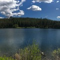 Panorama of Boulder Meadow Reservoir.- Boulder Lake